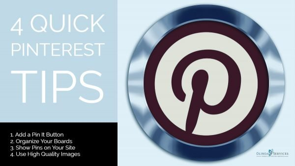 4 Quick Pinterest Tips