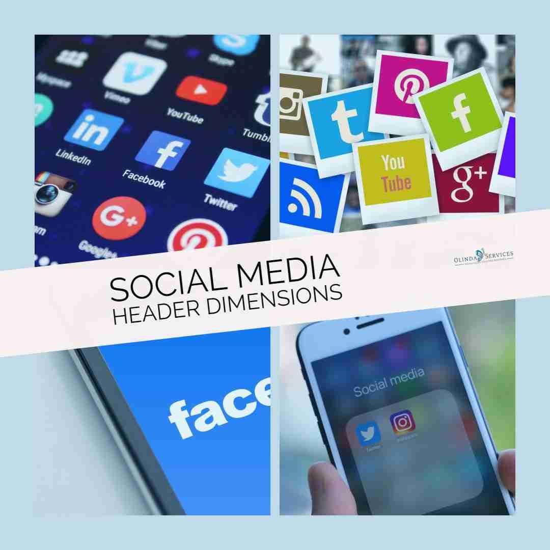Social Media Header Dimensions