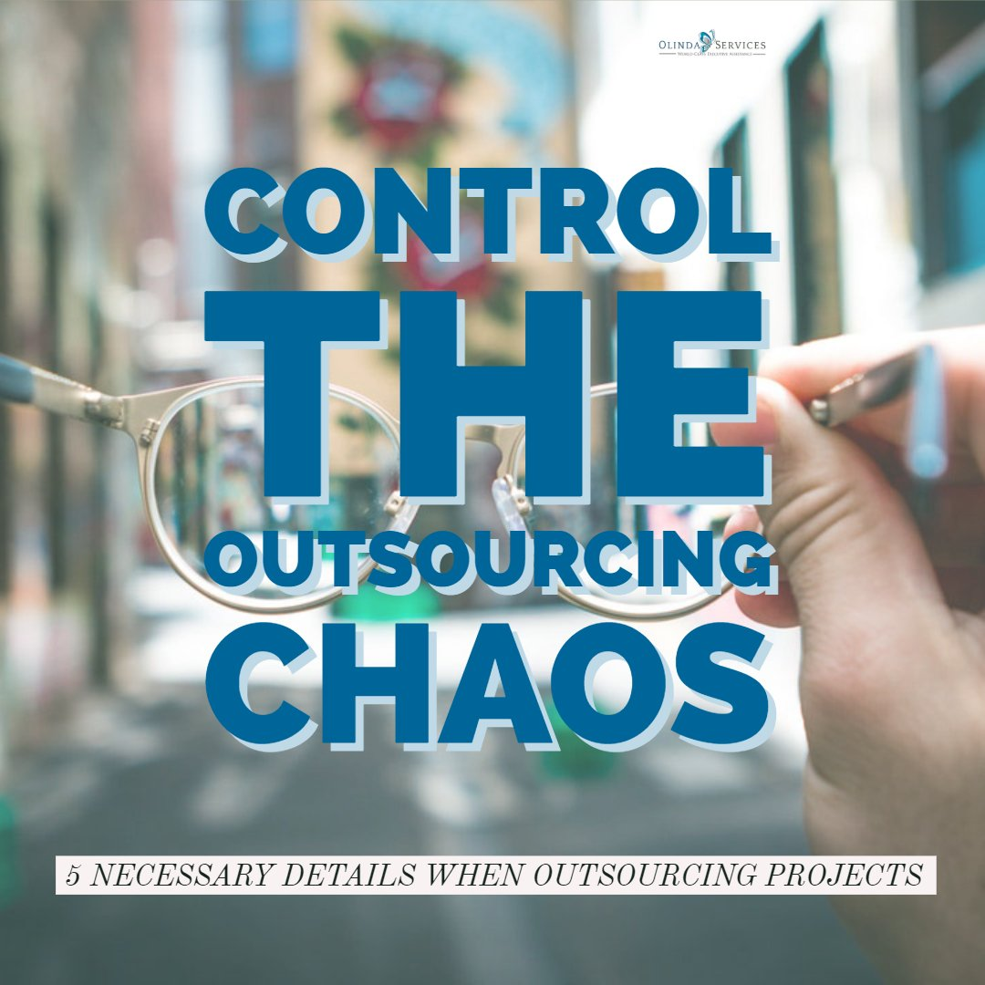 Control the Outsourcing Chaos