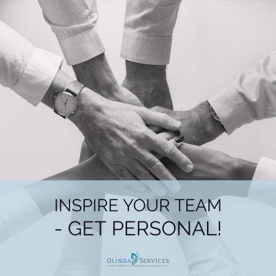 Inspire Your Team - Get Personal