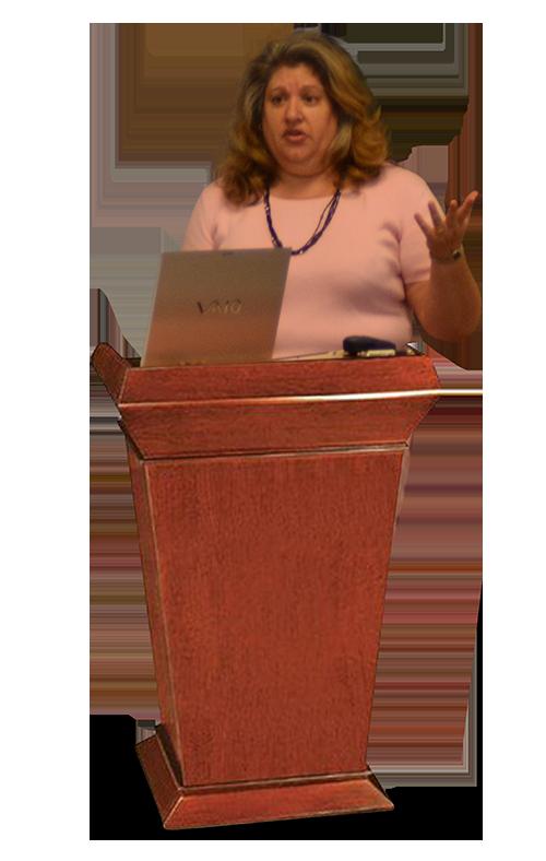 Speaker, Lisa Olinda