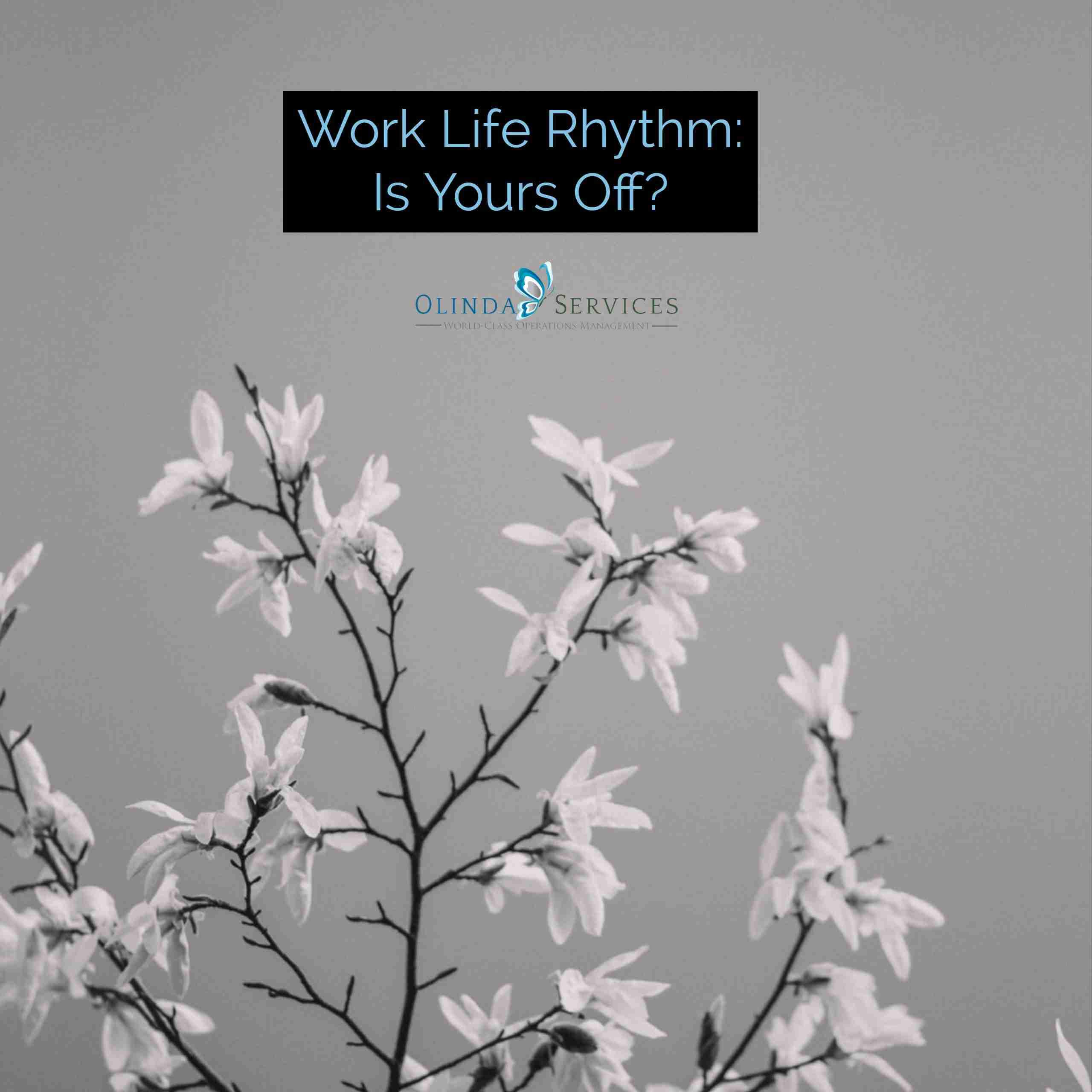 Work Life Rhythm versus Chaos