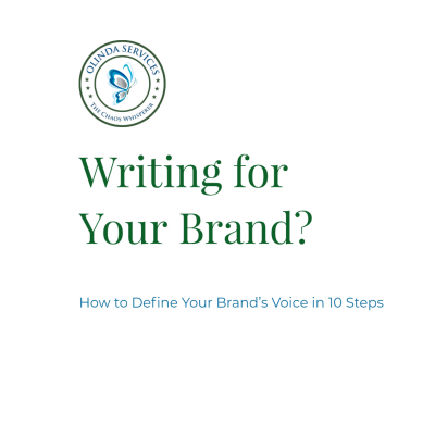 How to define your brand voice in 10 steps