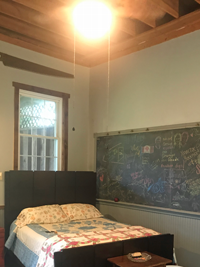 Life Shifts; AirBnB New Wilmington PA Schoolhouse #8 Bed