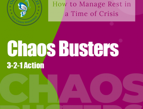 How to Manage Rest in a Time of Crisis