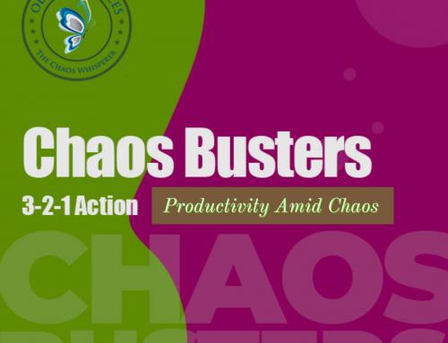 Productivity Amid Chaos