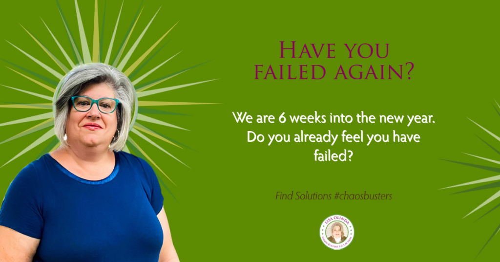 Have you failed again?
